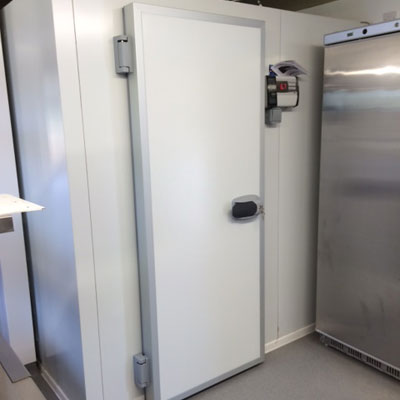 Walk in fridge for commercial client in Wrexham