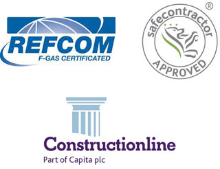 Refcom F-Gas Certified, Safe Contractor Approved, Constructionline