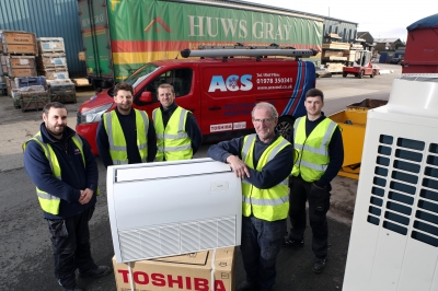 Huws Gray a big fan of Chester and North Wales air conditioning company